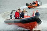 Rib varen op de IJssel
